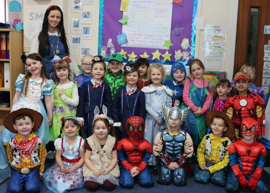 World Book Day - Reception